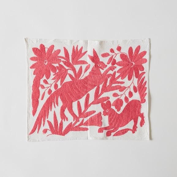 【写真】【一点物】オトミ刺繍 タペストリー S9