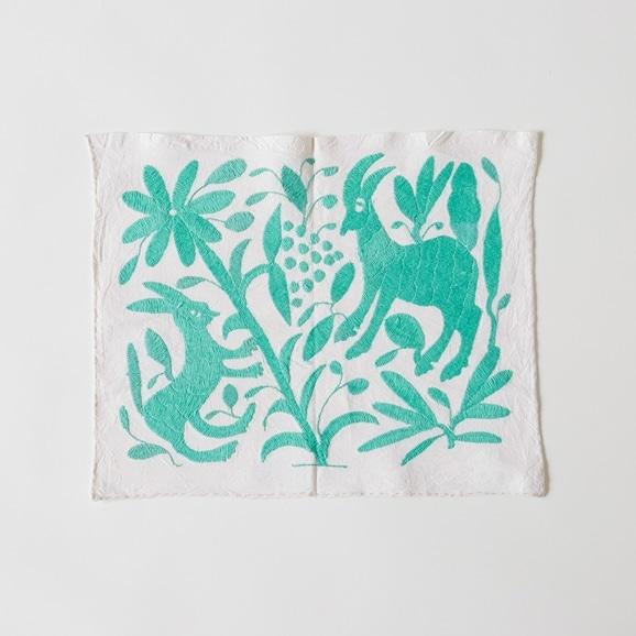 【写真】【一点物】オトミ刺繍 タペストリー S14
