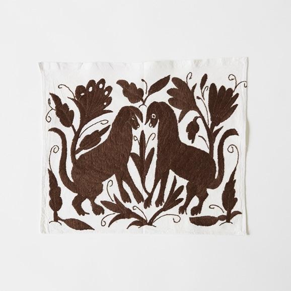 【写真】【一点物】オトミ刺繍 タペストリー S30