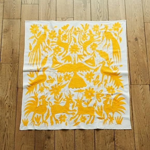 【写真】【一点物】オトミ刺繍 タペストリー 55