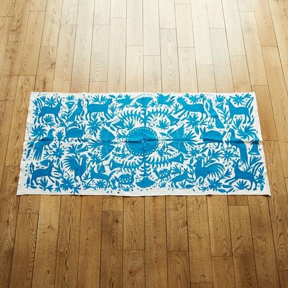 【写真】【一点物】オトミ刺繍 タペストリー 61