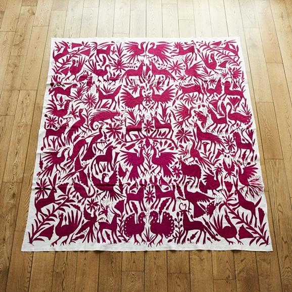 【写真】【一点物】オトミ刺繍 タペストリー 65