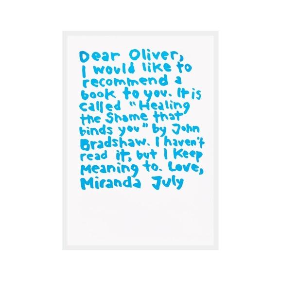 【写真】ミランダ・ジュライ 「Dear Oliver」