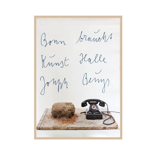 【写真】ヨーゼフ・ボイス 「Kunsthalle 1983」