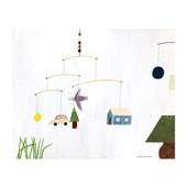 秋山 花 「Hanging a mobile」