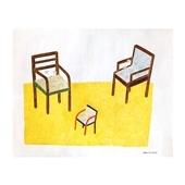 秋山 花 「3 chairs」