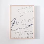 サイ・トゥオンブリー 「Galerie Yvon Lambert 1980」