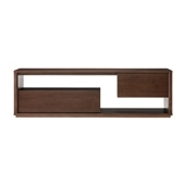 CONTOUR TV CABINET Walnut