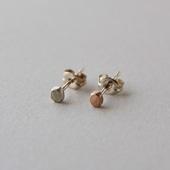 CHERRY BROWN Beads Pierce