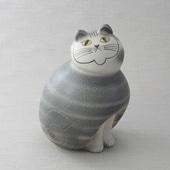 Lisa Larson Cat MIA Gray maxi