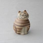 Lisa Larson Cat MIA Brown medium