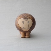 【定番品】Lisa Larson Lion medium