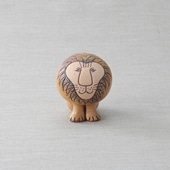 【定番品】Lisa Larson Lion Semi-medium