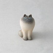 Lisa Larson Cat MAYA White