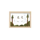 秋山 花 「Two Doves 鳩の会話」