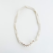 sai Cotton Necklace Pearl B