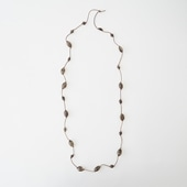 sai Long Necklace Smoky Quartz