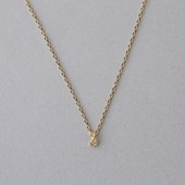 CHERRY BROWN White Diamond Petit Necklace