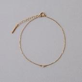 CHERRY BROWN White Diamond Petit Bracelet