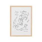 柚木 沙弥郎 「犬の毎日」