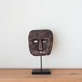 ティモール島 ウッドマスクのオブジェ
