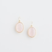 sai Pierce Rose Quartz
