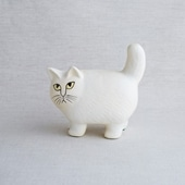 Lisa Larson Cat Moa White