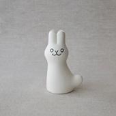 【定番品】En Liten Van Rabbit White