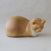 【定番品】Lisa Larson Cat Moses Brown