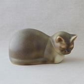 【定番品】Lisa Larson Cat Moses Gray
