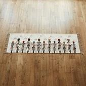 【一点物】サポテック ラグ (Isaac Vasquez Garcia) 60×197