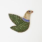 【一点物】トナラ 壁掛け 鳥 29