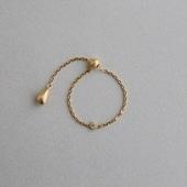 CHERRY BROWN dew Chain Ring 01