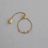 CHERRY BROWN dew Chain Ring 04